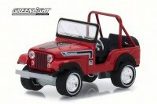 1974 Jeep CJ-5 Renegade,  The Great Escape - Greenlight 29936/48 - 1/64 Scale Diecast Model Toy Car