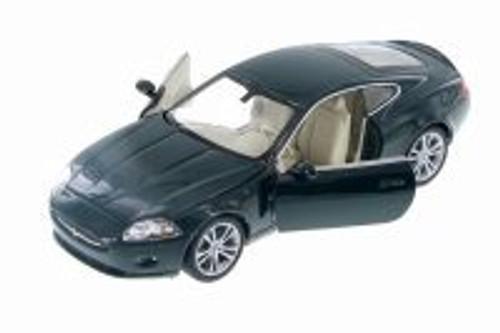 Jaguar XK, Green - Welly 22470WGN - 1/24 Scale Diecast Model Toy Car