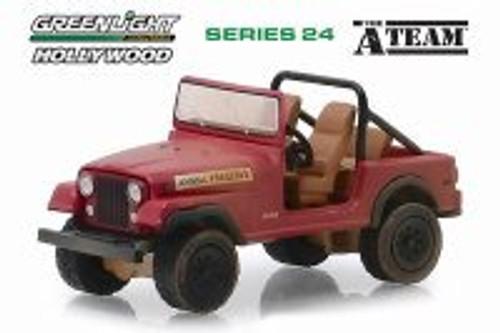 Jeep CJ-7, The A-Team - Greenlight 44840C/48 - 1/64 scale Diecast Model Toy Car