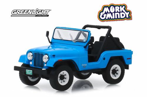 1972 Jeep CJ-5, Mork & Mindy - Greenlight 86570 - 1/43 scale Diecast Model Toy Car