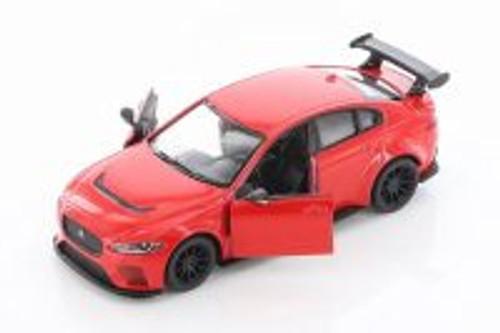 Jaguar XE SV Project 8 Hardtop, Red - Kinsmart 5416D - 1/38 scale Diecast Model Toy Car
