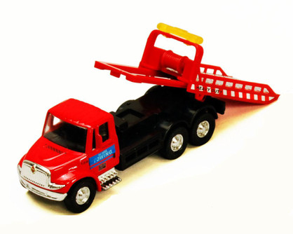 International Rollback Tow Truck, Red - Showcasts 2106D - 1/43 scale Diecast Model Toy Car