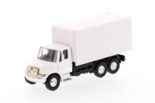 International Delivery Box Truck, White - Showcasts 2112WD - 5.25 Inch Scale Diecast Model Replica (Brand New, but NOT IN BOX)