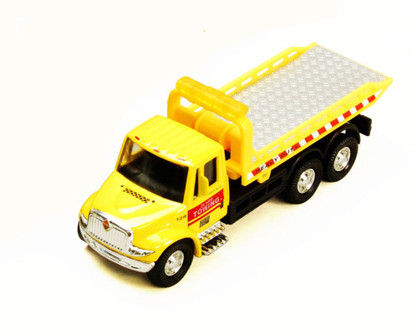 International Rollback Tow Truck, Yellow - Showcasts 2106D - 1/43 scale Diecast Model Toy Car