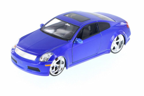 Infiniti G35, Blue - Jada 90290JY - 1/24 Scale Diecast Model Toy Car