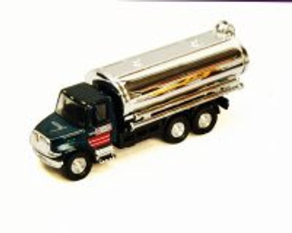 International Oil Tanker, Black - Showcasts 2105DC - 1/43 scale Diecast Model Toy Car