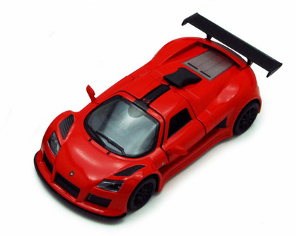 2010 Gumpert Apollo Sport, Red - Kinsmart 5356D - 1/36 scale Diecast Model Toy Car (Brand New, but NOT IN BOX)