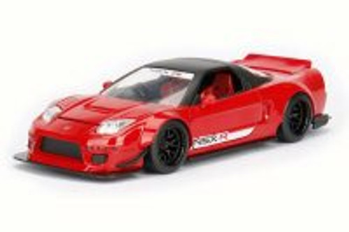 2002 Honda NSX Type-R Japan Spec Wide Body, Candy Apple Red - Jada 98555DP1 - 1/24 Scale Diecast Model Toy Car