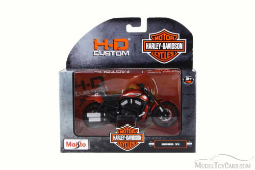 2012 Harley-Davidson VRSCDX Night Rod Special, Metallic Orange - Maisto 31360-33 - 1/18 Scale Diecast Motorcycle