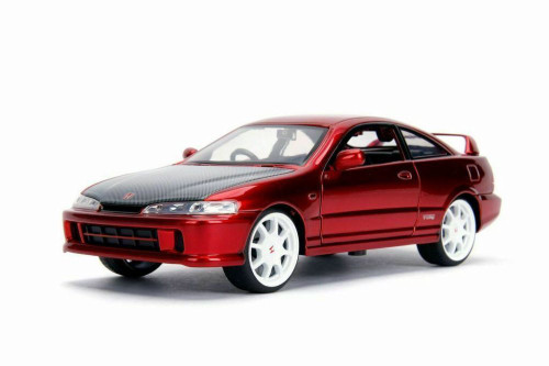 1995 Honda Integra Type-R (Japan Spec), Candy Red - Jada 30932 - 1/24 scale Diecast Model Toy Car