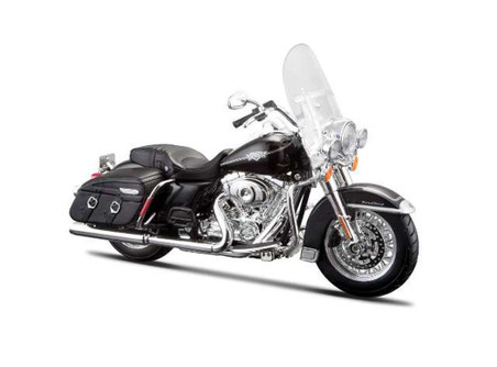 FLHRC Road King Classic Harley-Davidson Motorcycle, Black - Maisto HD Custom 32322/BIKE - 1/12 Scale Diecast Model Toy Motorcycle