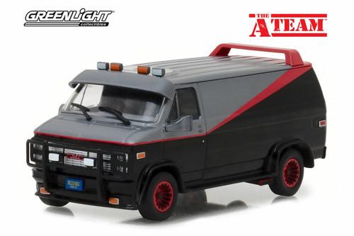 1983 GMC Vandura, A-Team - Greenlight 86515 - 1/43 Scale Diecast Model Toy Car