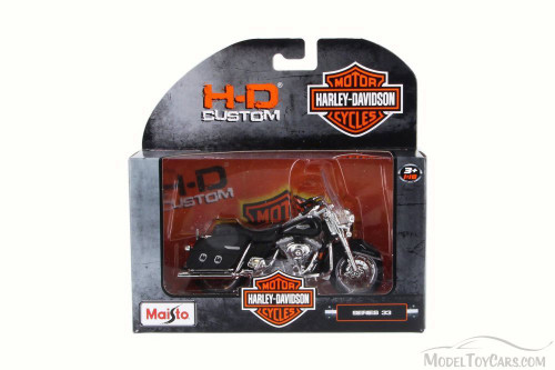 2001 Harley-Davidson FLHRC Road King Classic, Black - Maisto 31360-33 - 1/18 Scale Diecast Motorcycle