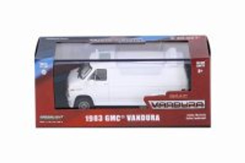 1983 GMC Vandura Custom, White - Greenlight 86326 - 1/43 Scale Diecast Model Toy Car