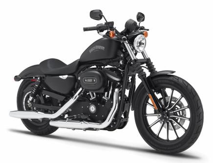 2014 Harley-Davidson HD Custom Sportster Iron 883,Black - Maisto 32326/BIKE - 1/12 scale diecast model motorcycle