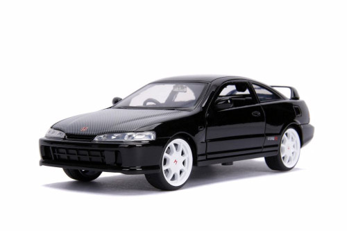 1995 Honda Integra Type-R (Japan Spec), Black - Jada 99778DP1 - 1/24 scale Diecast Model Toy Car