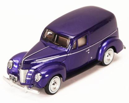 1940 Ford Sedan Delivery, Purple - Motormax 73250P - 1/24 Scale Diecast Model Car