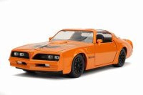 1977 Pontiac Firebird Trans Am T-Top, Metallic Orange - Jada 31601/4 - 1/24 scale Diecast Model Toy Car