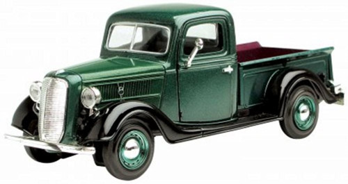 1937 Ford Pick-up Truck, Green - Showcasts 73233 - 1/24 Scale Diecast Model Toy Car
