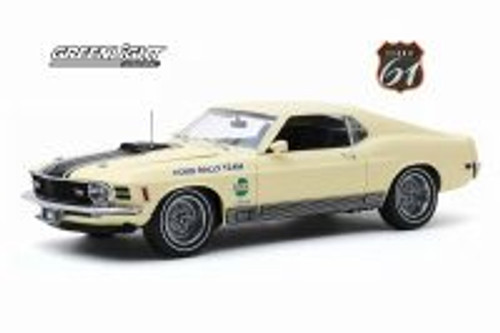 1970 Ford Mustang Mach 1, Competition Limited Team - SCCA Manufacturer's Road Rally Championship - Greenlight HWY18019 - 1/18 scale Diecast Model Toy Car
