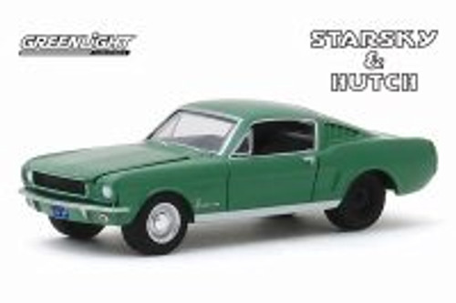 1966 Ford Mustang Fastback, Starsky and Hutch - Starsky and Hutchlight 44855B/48 - 1/64 scale Diecast Model Toy Car