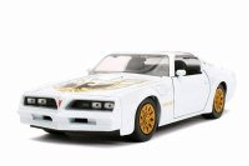 1977 Pontiac Firebird Trans Am T-Top, Pearl White - Jada 31600/4 - 1/24 scale Diecast Model Toy Car