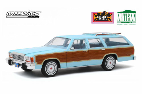 1979 Ford LTD Country Squire, Charlie's Angels - Greenlight 19066 - 1/18 scale Diecast Model Toy Car