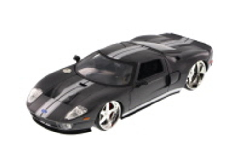 Ford GT, Gray - JADA Toys 97366AB - 1/24 Scale Diecast Model Toy Car (Brand New, but NOT IN BOX)