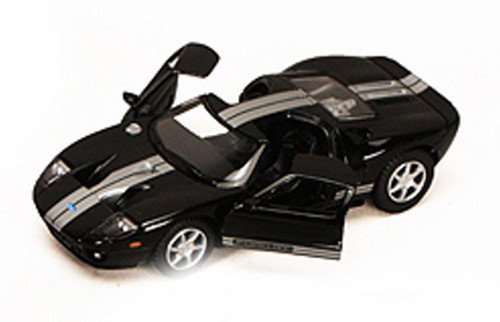 Ford GT, Black - Kinsmart 5092D - 1/36 scale Diecast Model Toy Car (Brand New, but NOT IN BOX)