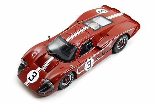 1967 Ford GT MK IV Le Mans #1, Brown - Shelby Collectibles, Inc. SC425BN - 1/18 Scale Diecast Model Toy Car