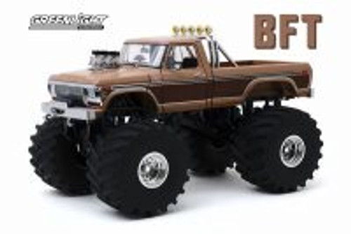 1978 Ford F-350 Monster Truck (with 66-inch Tires), Kings of Crunch-BFT - Greenlight 13557 - 1/18 scale Diecast Model Toy Car