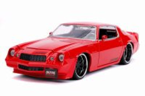1979 Chevy Camaro Z28 Hardtop, Red - Jada 31617DP1 - 1/24 scale Diecast Model Toy Car