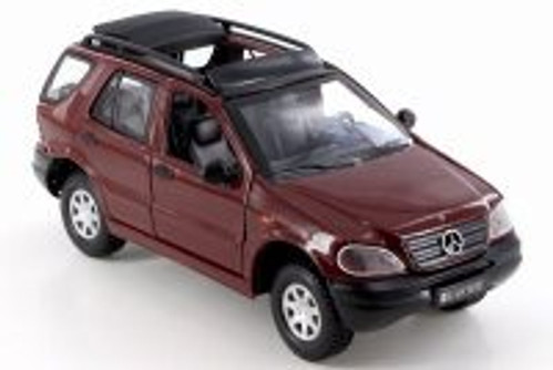 Mercedes-Benz M-Class, Red - Smart Toys 95121 - 1/24 Scale Diecast Model Toy Car