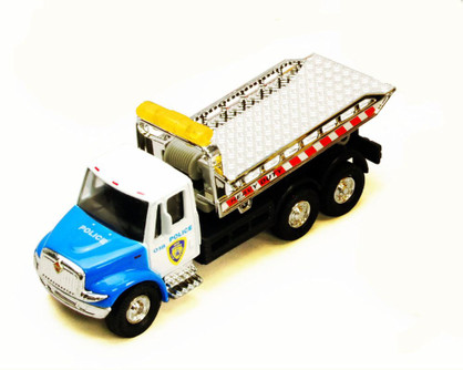 International Rollback Tow Truck, Blue - Showcasts 2106D - 1/43 scale Diecast Model Toy Car