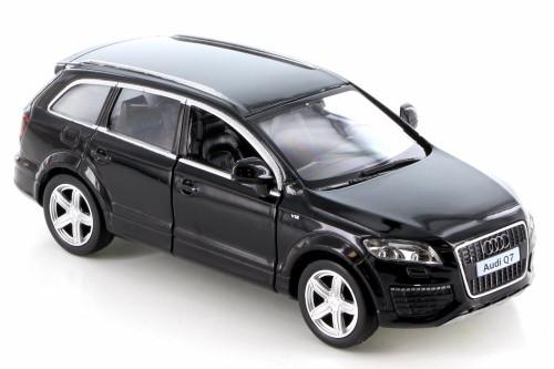 Audi Q7 V12, Black - RMZ City 555016 - Diecast Model Toy Car