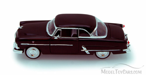 1953 Ford Victoria, Black - Welly 22093 - 1/24 scale Diecast Model Toy Car