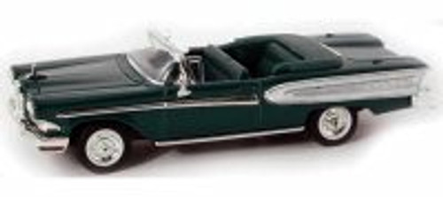 1958 Edsel Citation Convertible, Green - Yatming 94222 - 1/43 Scale Diecast Model Toy Car