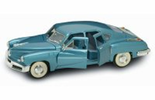 1948 Tucker Torpedo, Blue - Yatming 92268 - 1/18 Scale Diecast Model Toy Car