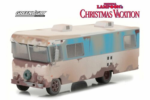 National Lampoon's Christmas Vacation Condor II RV, Brown - Greenlight 33100A - 1/64 Scale Diecast Model Toy Car