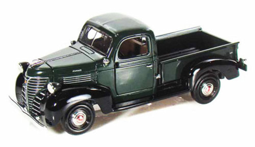 1941 Plymouth Truck, Green With Black - Showcasts 73278 - 1/24 Scale Diecast Model Car (Brand New, but NOT IN BOX)