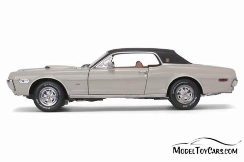 1968 Mercury Cougar XR7G Hard Top, Fawn Beige - Sun Star 1572 - 1/18 Scale Diecast Model Toy Car