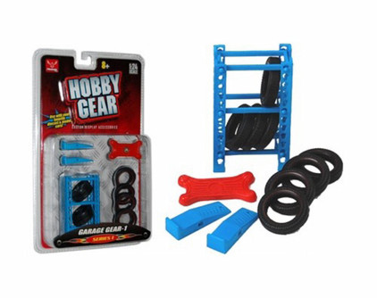 Garage Gear Set #1 - Phoenix 16061 - 1/24 Scale Diecast Car Accessory