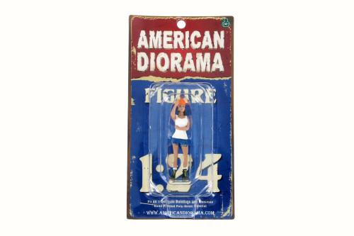 Hotrodders Nancy Figurine, American Diorama 24028 - 1/24 Scale Hobby Accessory