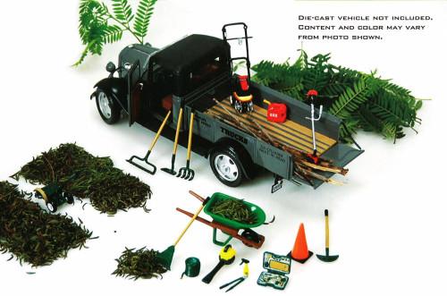 Hobby Gear Landscape Service - Phoenix Garage Diorama Accessory Set 18432 - 1/24 scale diecast car diorama accessory