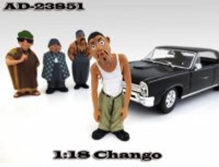 Homies Figures Series 1 Chango, American Diorama Figurine 23851 - 1/18 scale