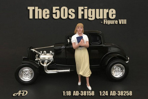 50's Style Figure VIII, American Diorama 38158 - 1/18 Scale Accessory for Diecast Cars