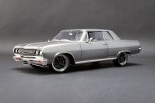 1965 Chevy Chevelle The Anvil Hardtop, Gray - Acme A1805514 - 1/18 scale Diecast Model Toy Car