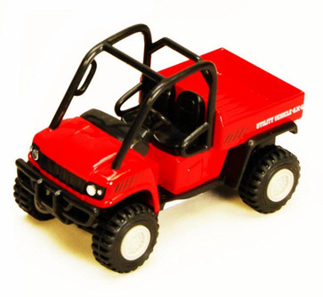 Utility Vehicles, Red - Showcasts 2171D - 4.5 Inch Scale Diecast Model Replica