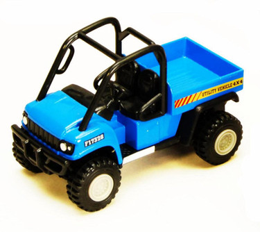 Utility Vehicles, Blue - Showcasts 2171D - 4.5 Inch Scale Diecast Model Replica