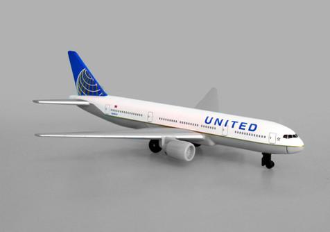 United Airlines B777, White - Daron RT6266 - Diecast Model Airplane Replica